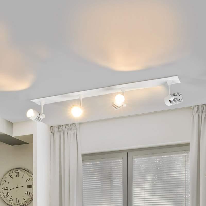 Dimbare LED op- en inbouwlamp Justus