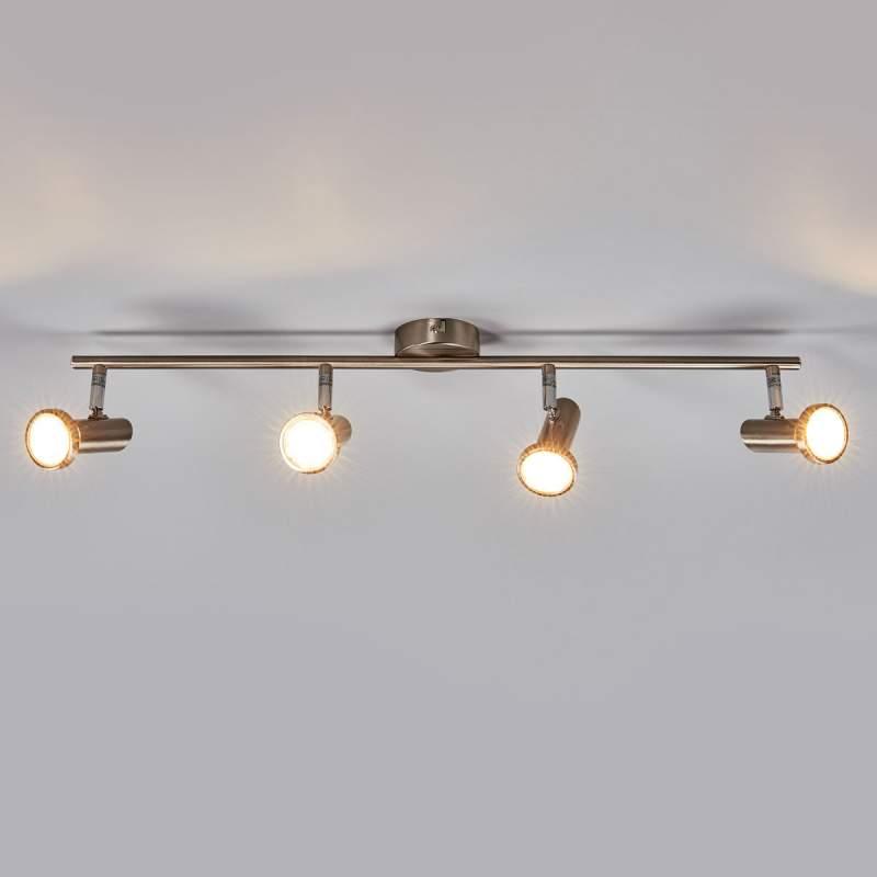 Cosma - vierlamps LED-plafondlamp