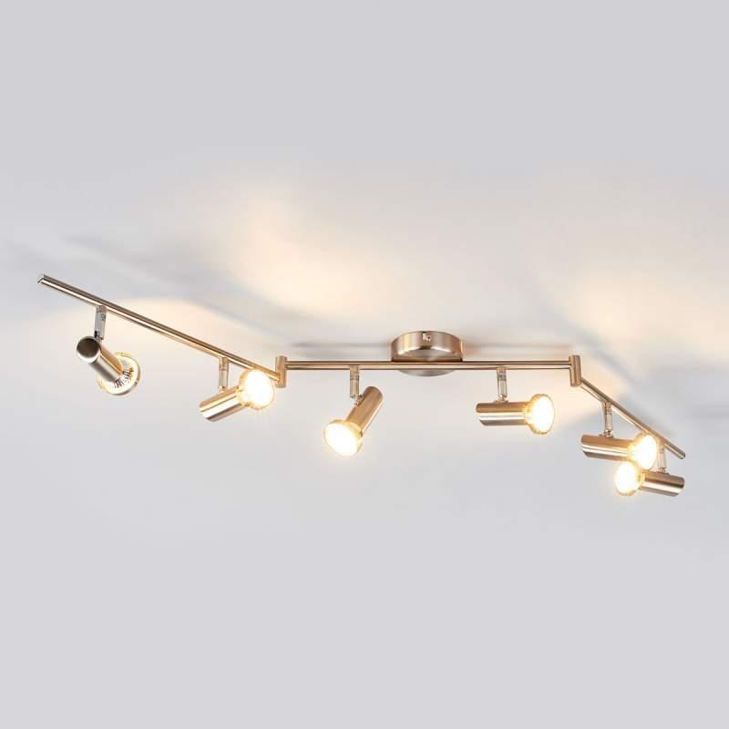 LED-plafondspot Cosma met verstelbare armen