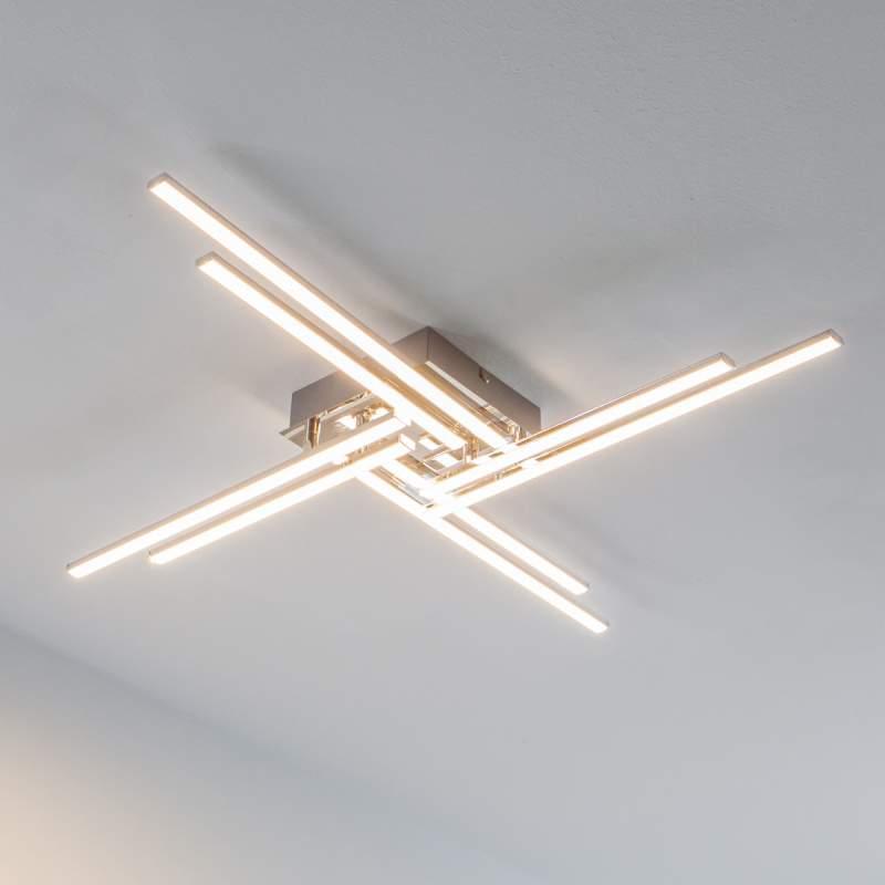 Nikan - LED-plafondlamp met 8 staven