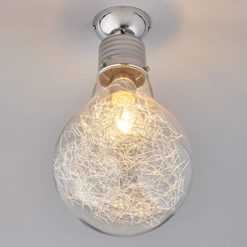 Rubi - plafondlamp in de vorm van een gloeilamp