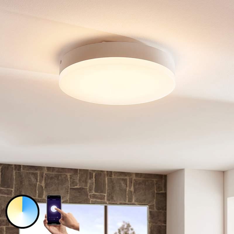 Ronde LED plafondlamp Chester, var. lichtkleur