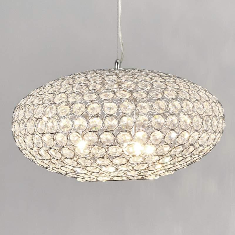 Kristal-hanglamp Edda