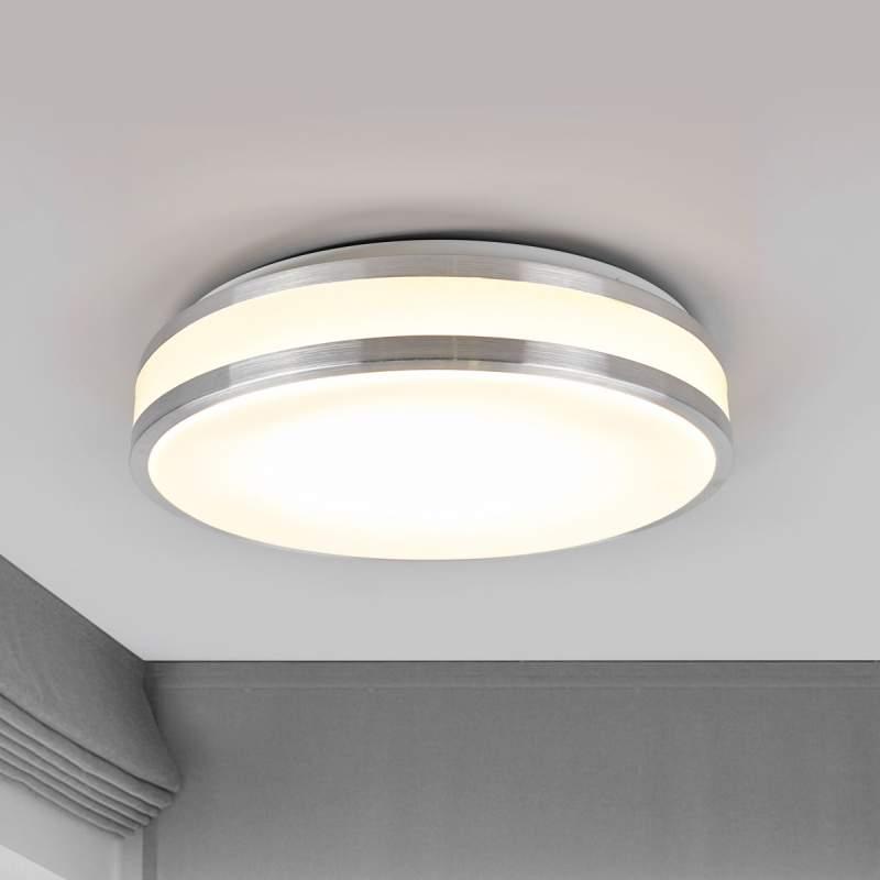 Woonkamer plafondlamp Edona met krachtige LED's