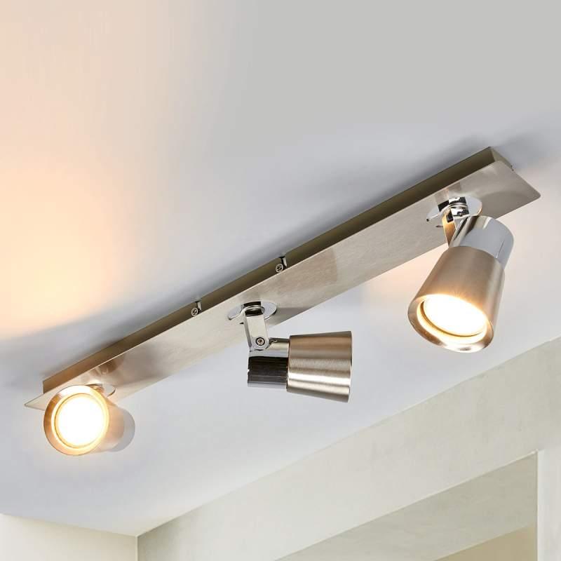 LED plafondspot Eleonora met drie lampen