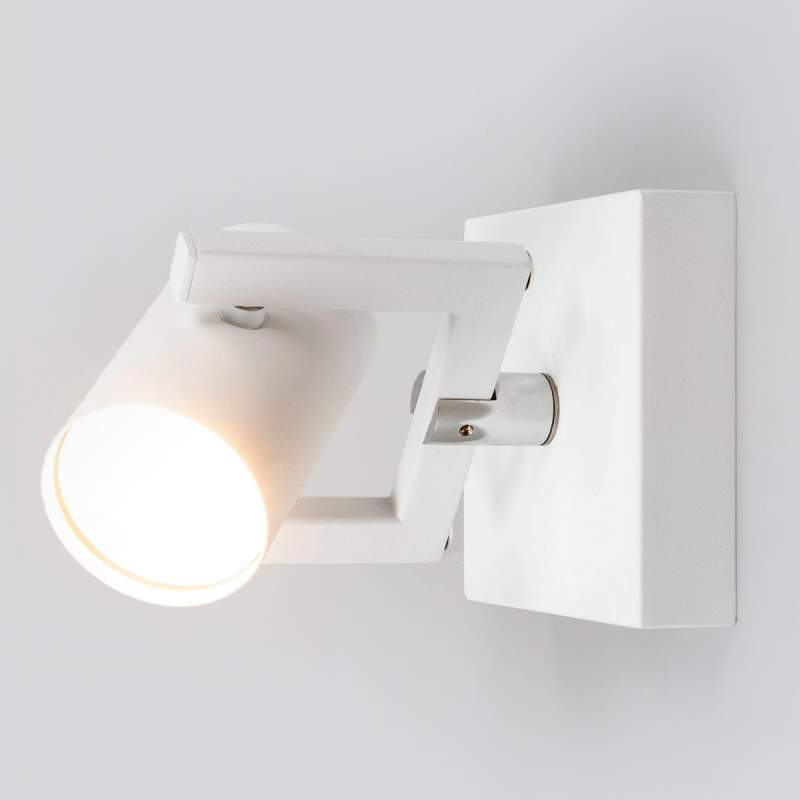 Witte LED spot Sulamita in cilindrisch ontwerp