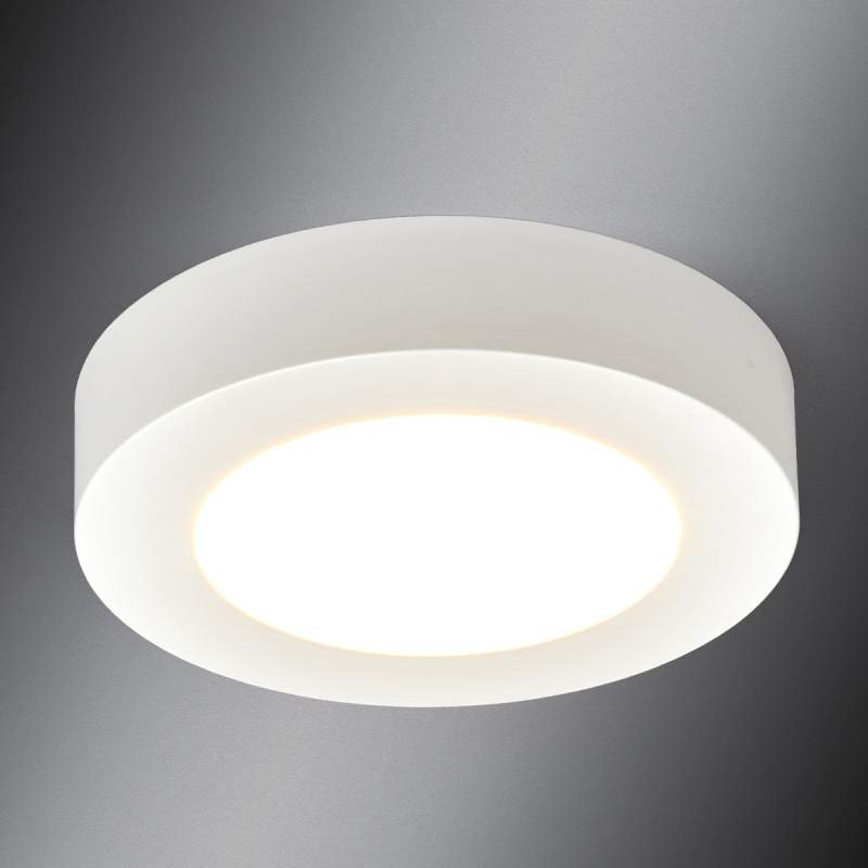 Ronde LED plafondlamp Esra voor de badkamer