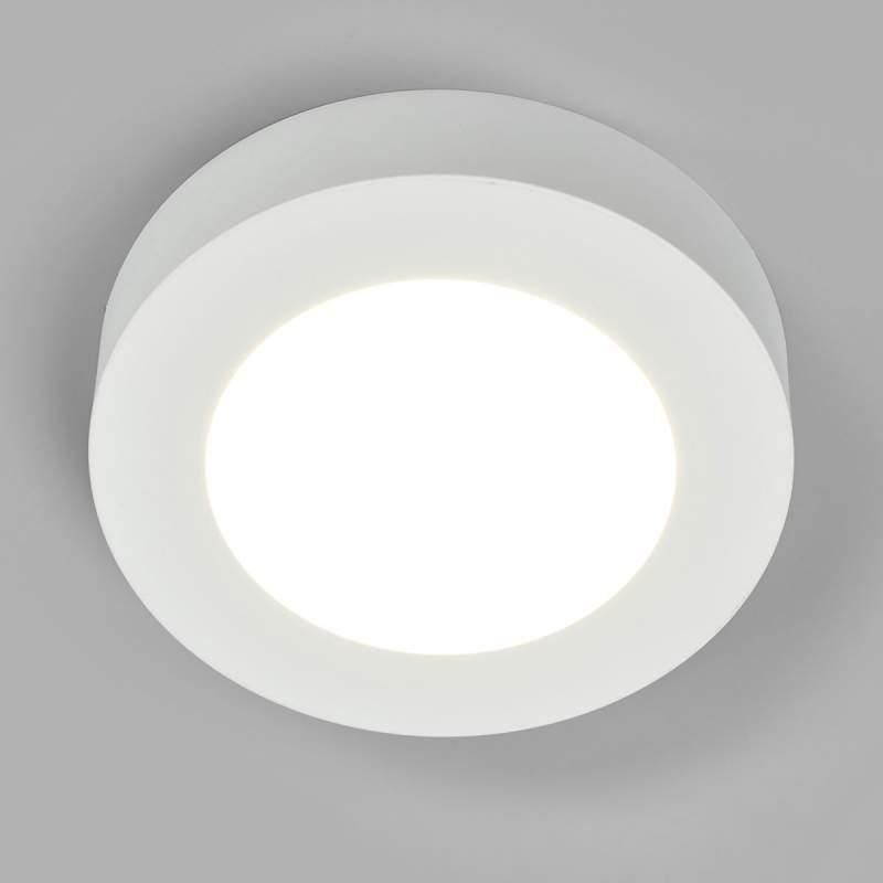 Universeel witte LED plafondlamp Marlo, IP44