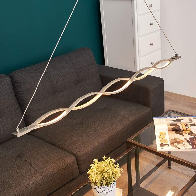 Golfvormige LED hanglamp Tori