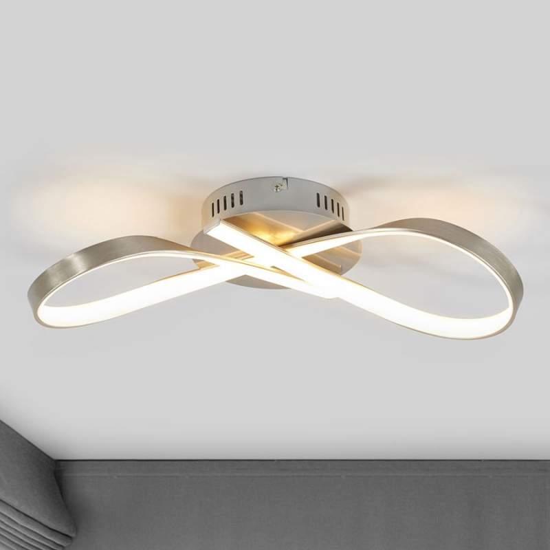 LED plafondlamp Arlana in lusvorm