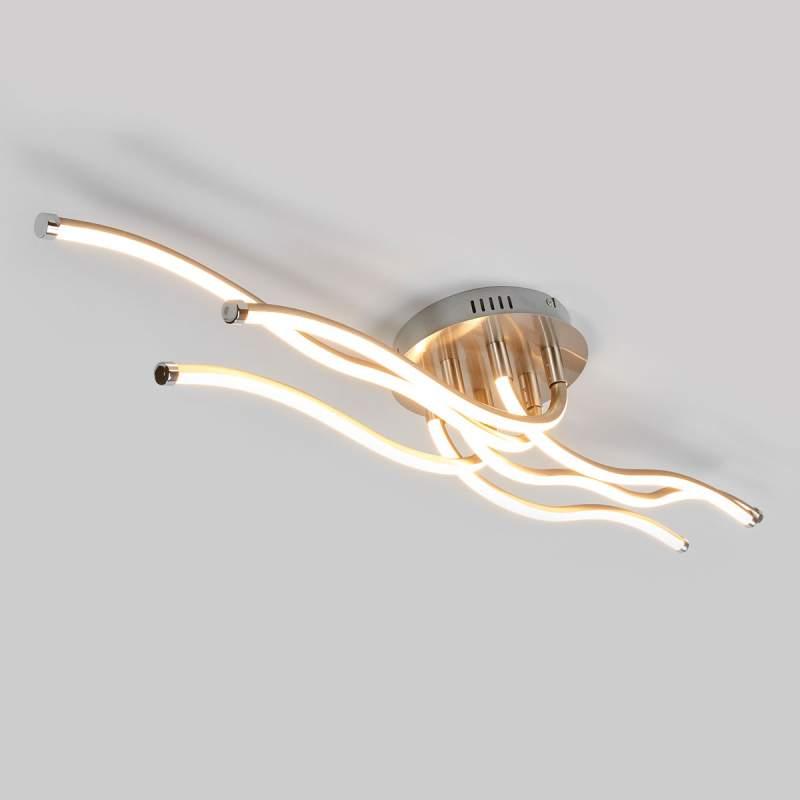 Golfvormige LED plafondlamp Saya