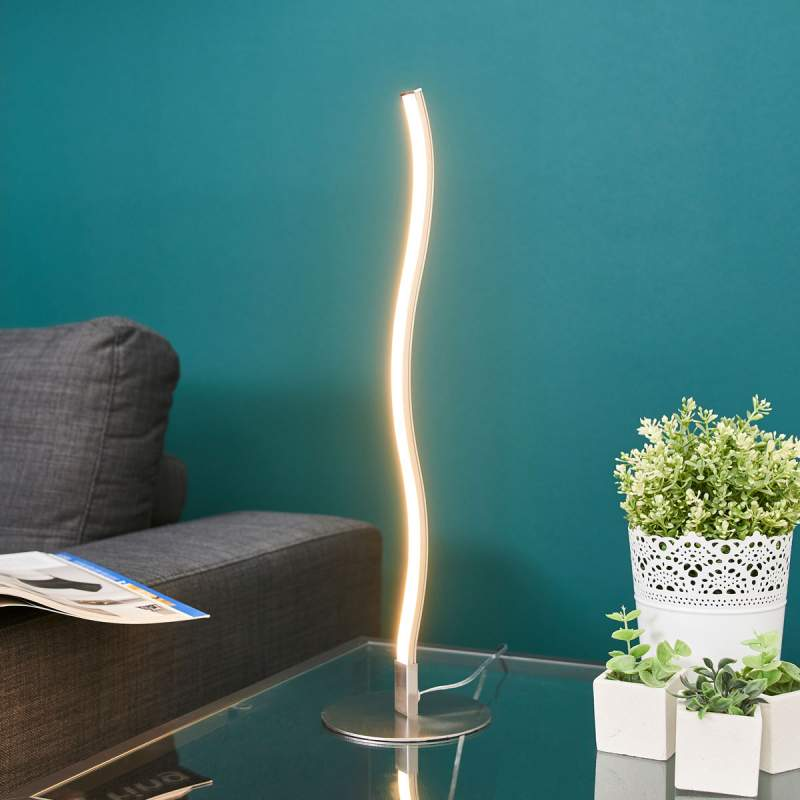 Golfvormige LED tafellamp Sefa