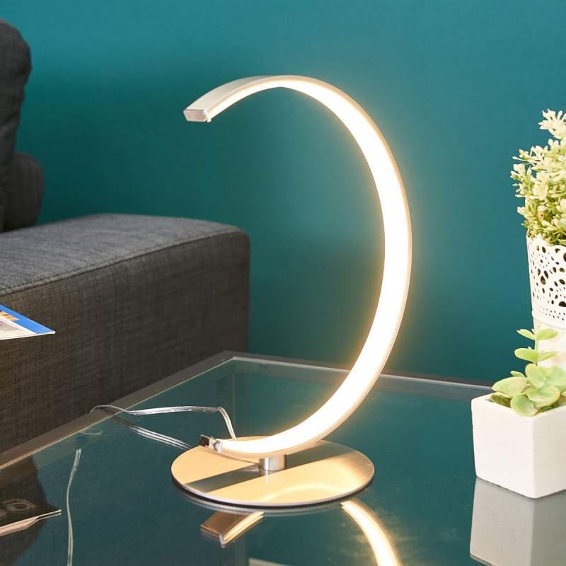 C-vormige LED tafellamp Sipan