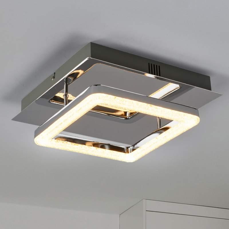 Daron - LED plafondlamp in kristal look