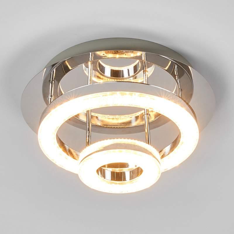 Mooie LED plafondlamp Daron, 2-traps