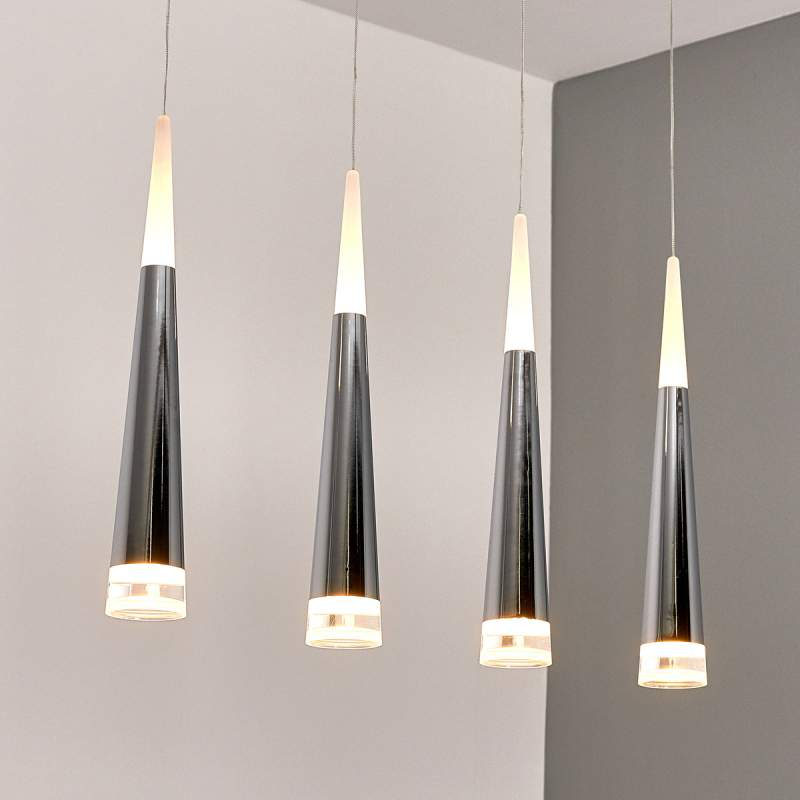 LED hanglamp Janne met vier lichtbronnen