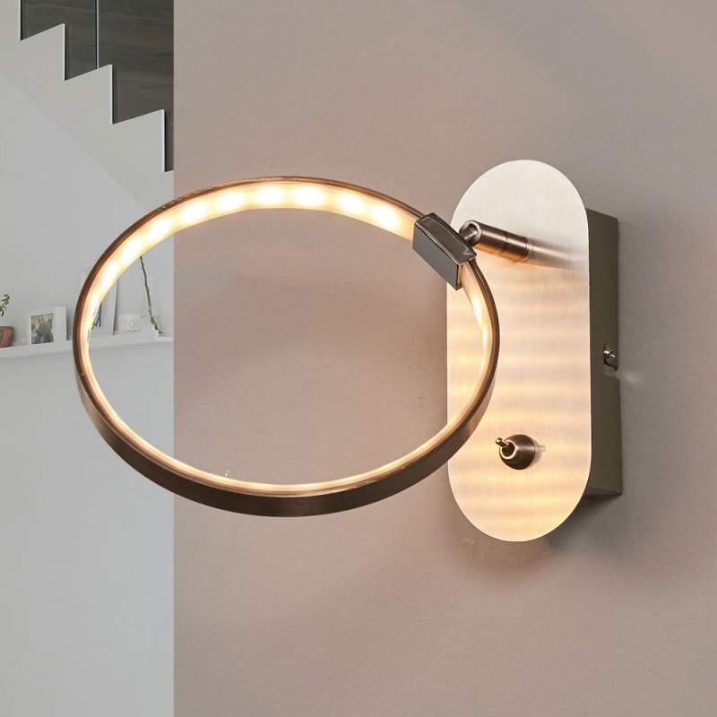 Tinka - LED wandlamp met schakelaar