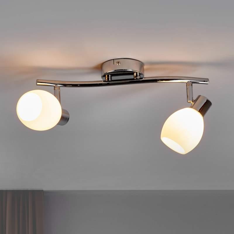 LED plafondlamp Aidan met twee lichtbronnen