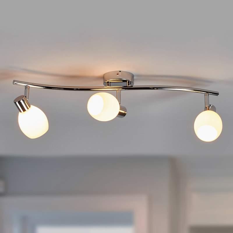 Aidan - G9 LED plafondlamp met glasschermen