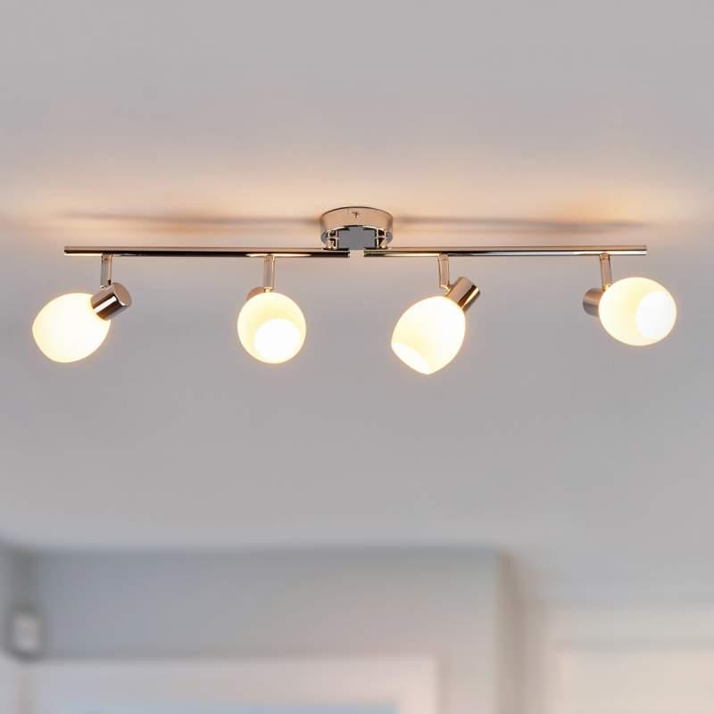 LED plafondlamp Aidan met twee lichtbronnen, G9