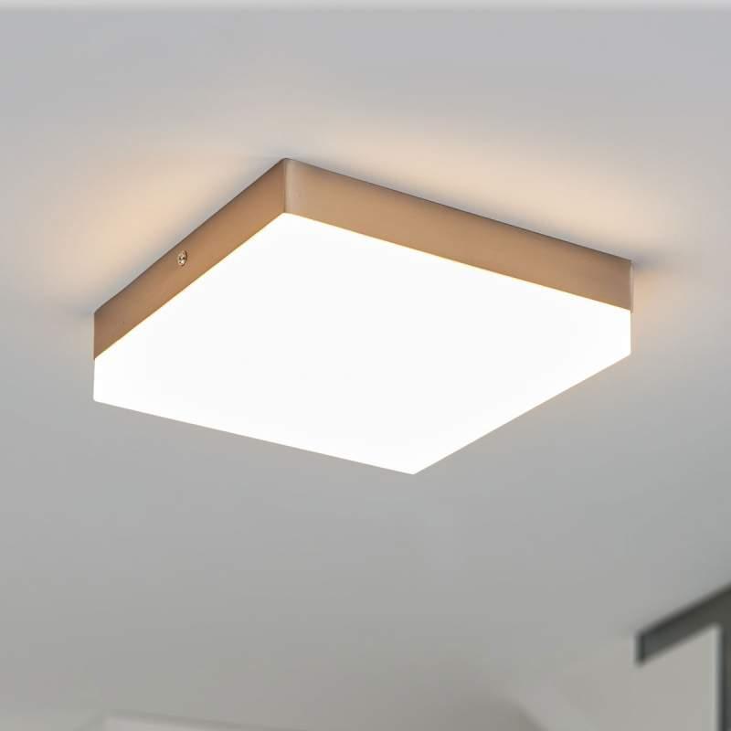 Vierkante led plafondlamp Nieke