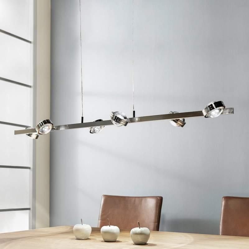 In hoogte verstelbare LED hanglamp Pablos