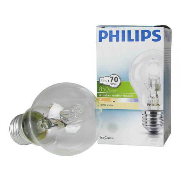 Philips EcoClassic 53W E27 230V A55 Clear