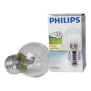 Philips EcoClassic Lustre 18W E27 230V P45 Clear