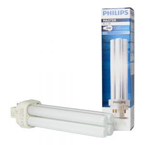 Philips PL-C 18W 830 4P (MASTER) | Warm Wit - 4-Pin