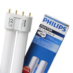 Philips PL-L 24W 840 4P (MASTER) | Koel Wit - 4-Pin