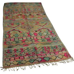 antieke berber 343cm x 176cm hoogpolig vloerkleed