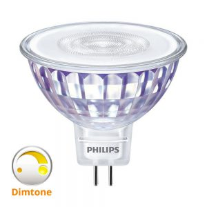 Philips LEDspot VLE GU5.3 MR16 5W 827 36D (MASTER) | Extra Warm Wit - DimTone Dimbaar - Vervangt 35W