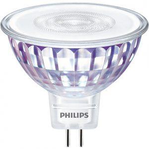 Philips LEDspot VLE GU5.3 MR16 7W 827 36D (MASTER) | Extra Warm Wit - Dimbaar - Vervangt 50W