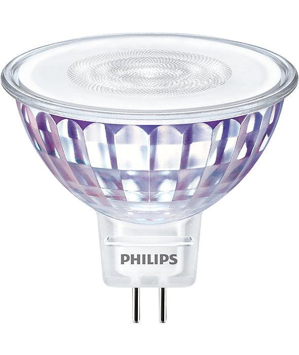 Philips CorePro LEDspot LV GU5.3 MR16 7W 827 36D   Extra Warm Wit - Vervangt 50W