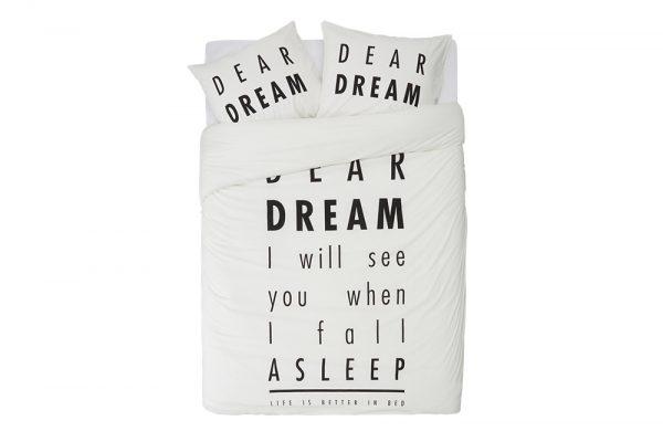 Dekbedovertrek Dear Dream Day Dream