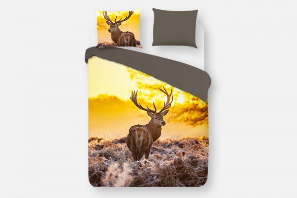Dekbedovertrek Deer In Sun Good Morning