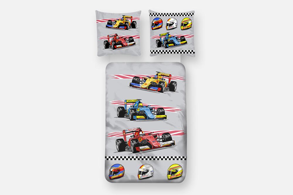Dekbedovertrek Formule 1 Good Morning