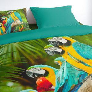 Dekbedovertrek Parrots PURE