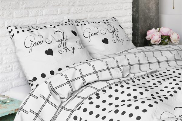 Dekbedovertrek Goodnight Love Beddenreus