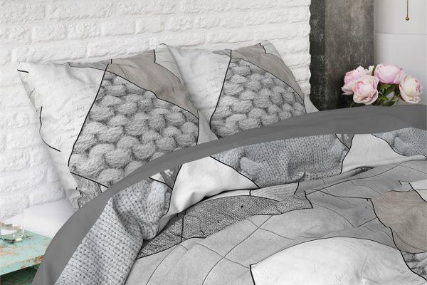 Dekbedovertrek Knitted Shapes Beddenreus