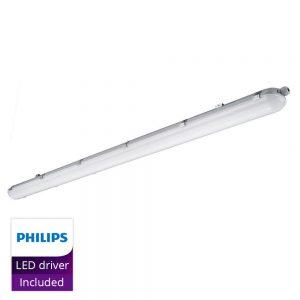 Noxion LED Armatuur Waterdicht Standaard 150cm 4000K 6340lm | Vervangt 2x58W
