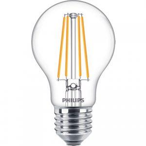 Philips Classic LEDbulb E27 A60 8W 827 Helder   Extra Warm Wit - Vervangt 75W