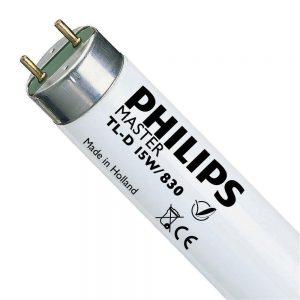 Philips TL-D 15W 830 Super 80 (MASTER) | 44cm - Warm Wit
