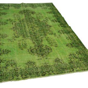 vintage vloerkleed groen 281cm x 164cm