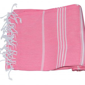 Roze Hamamdoek 100% katoen (180cm x 100cm)
