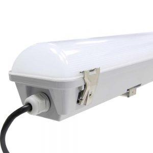 Noxion LED Armatuur Waterdicht Pro 60cm 4000K 2550lm | Doorvoerbedrading (5x2.5mm2) - Vervangt 2x18W