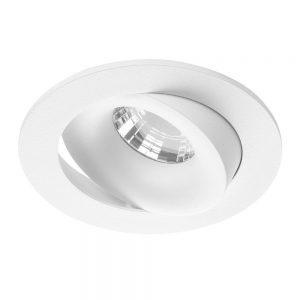 Noxion LED Spot Leda IP44 Wit 2700K 6W   Beste Kleurweergave - Dimbaar