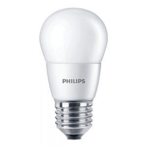 Philips CorePro LEDlustre E27 P48 7W 827 Mat   Vervangt 60W