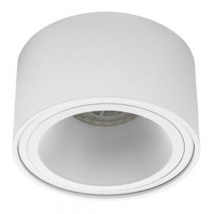 Noxion Spot Rondo Wit | incl. GU10 Fitting