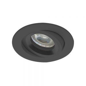 Noxion Spot Drome Zwart | incl. GU10 Fitting
